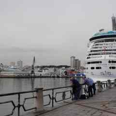 El Puerto de A Coruña recibe esta semana ocho cruceros
