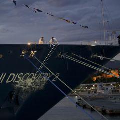 Thomson Cruises bautiza su nuevo buque Tui Discovery 2 en el Puerto de Málaga