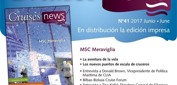 Revista CruisesNews 41 (Junio) disponible