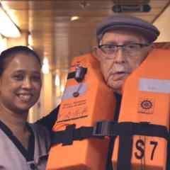 """Pullmantur Cruceros estrena """"La historia real de un tío cojonudo"""", el documental que narra la conmovedora experiencia de Antonio Benedico, un barcelonés de 93 años"""