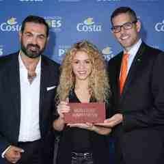 """La Fundación """"Pies Descalzos"""" de Shakira y Costa Cruceros, juntos para la construcción de un colegio en Colombia"""