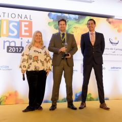 "James Stevens, wins ""Master ICS Award 2017"""