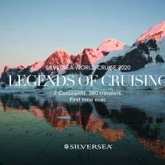 Silversea presenta su World Cruise 2020 y abre las reservas para este crucero pionero en los viajes de la vuelta al mundo