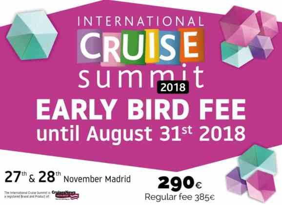 ICS 2018 – Early bird fee, register now!