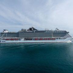 El emblemático MSC Seaview será bautizado en el histórico Puerto de Génova