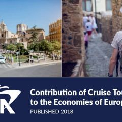 La contribución económica de la industria de cruceros a la economía española en 2017 fué de 4.253 millones de euros