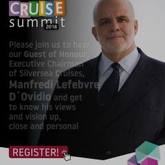 ICS 2018 – Please join us to hear our Guest of Honour, Executive Chairman of Silversea Cruises, Manfredi Lefebvre D´Ovidio