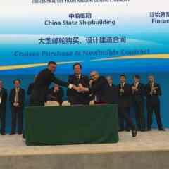 Firmado el pedido de dos barcos a construir en China para CSSC Carnival Shipping Ltd.