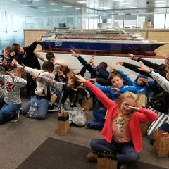 Pullmantur Cruceros organiza una jornada lúdico-educativa  para los hijos de sus empleados en sus oficinas