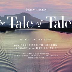 The tale of tales: el Silver Whisper de Silversea tras someterse a una importante reforma zarpa hacia su World Cruise 2019