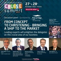 ICS 2019 – Discussion panel: FROM CONCEPT TO CHRISTENING – BRINGING A SHIP TO THE MARKET