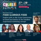 ICS 2019 – Discussion panel: FOOD GLORIOUS FOOD