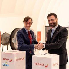 Costa Cruceros e Iberia renuevan su acuerdo para ofrecer una mejor conectividad