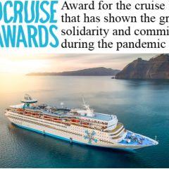 Celestyal Cruises, galardonada en la segunda edición de los Premios MedCruise 2020