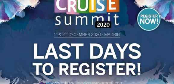 ICS 2020 – LAST FEW DAYS TO REGISTER!