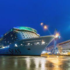 El Odyssey of the Seas llega al Mar del Norte desde el astillero Meyer Werft