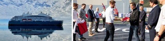 PONANT recibe su primer barco híbrido eléctrico GNL, Le Commandant Charcot