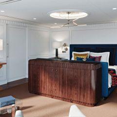 Ralph Lauren Home diseñará las nuevas Owner's Suites y la biblioteca de Oceania Vista
