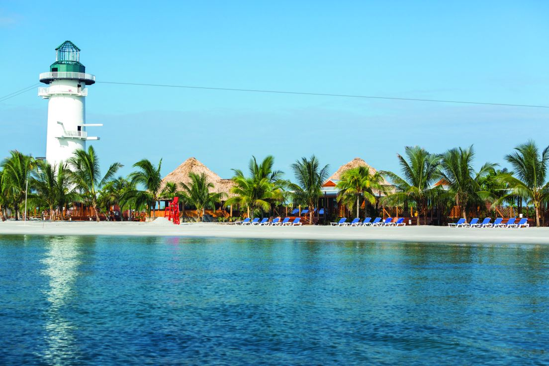 Harvest Caye  welcome to paradise  CRUISE TO TRAVEL