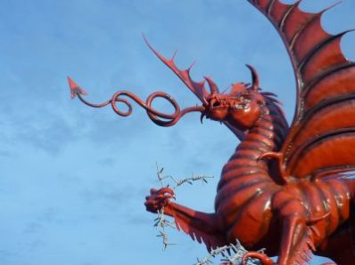 Welsh Red Dragon in Mametz (1)