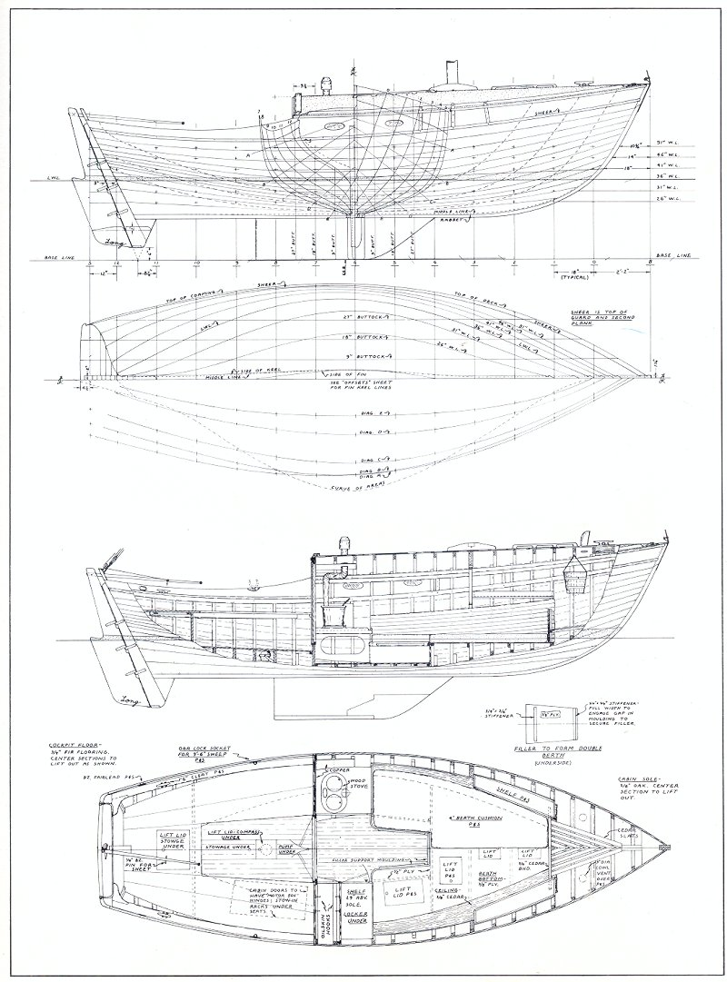 medium resolution of in particular this boat originally designed for plank lapstrake but built by covey island as a stripper