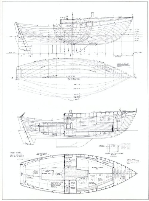 small resolution of in particular this boat originally designed for plank lapstrake but built by covey island as a stripper