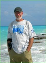 Ken on the beach