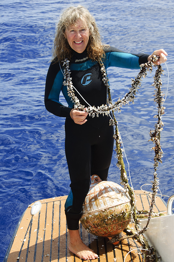 A nasty trap for marine life.