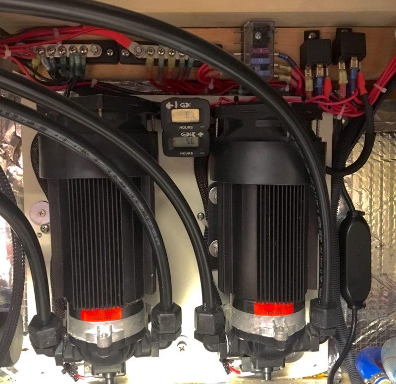 Dual Low Pressure pumps