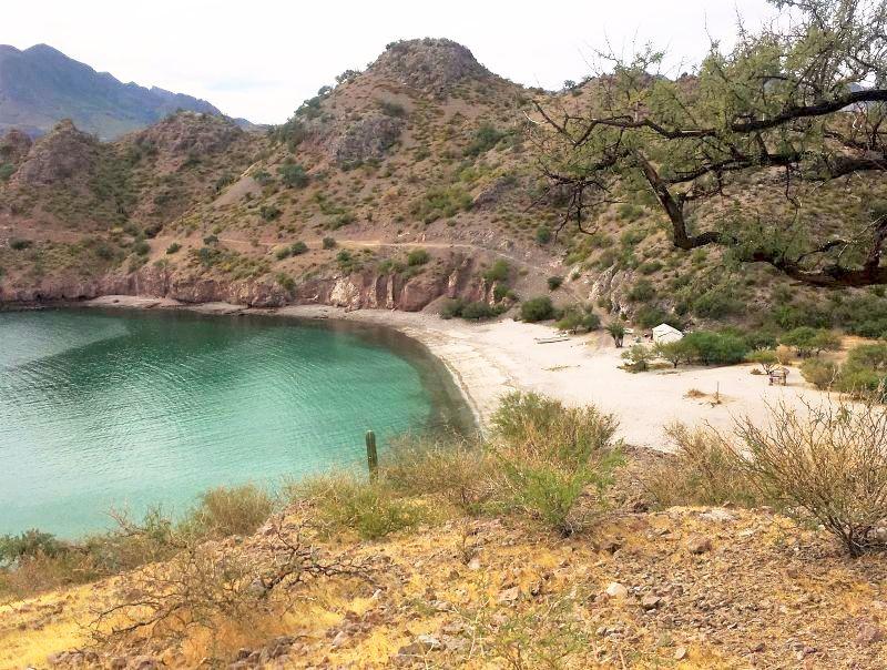 Aqua Verde private beach
