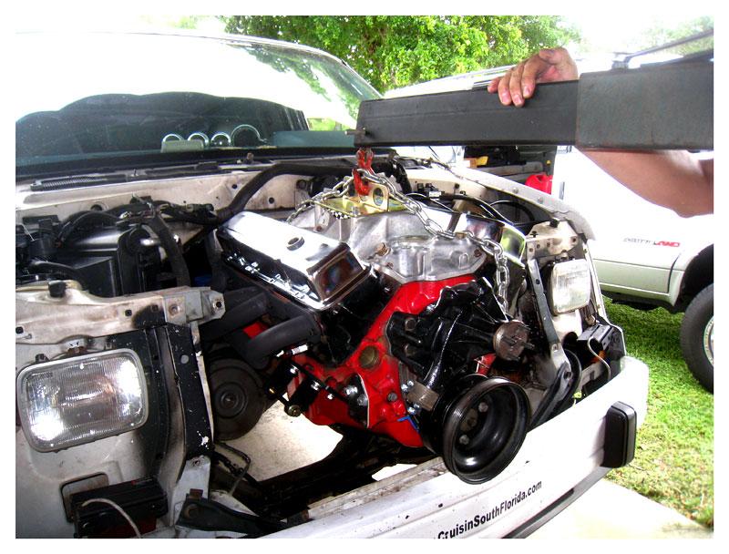Chevy Astro V8 Conversion Kit