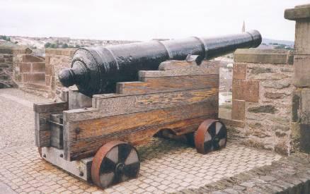 Defenders' artillery