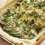 Savour Summer – Lemony Zucchini Tart