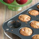 Part of a Complete Breakfast: Multigrain Apple Muffins
