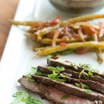 Secret Recipe Club: Korean-Style Steak and Sweet Chili Green Beans