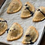 End of Summer Blues: Wild Blueberry Basil Hand Pies