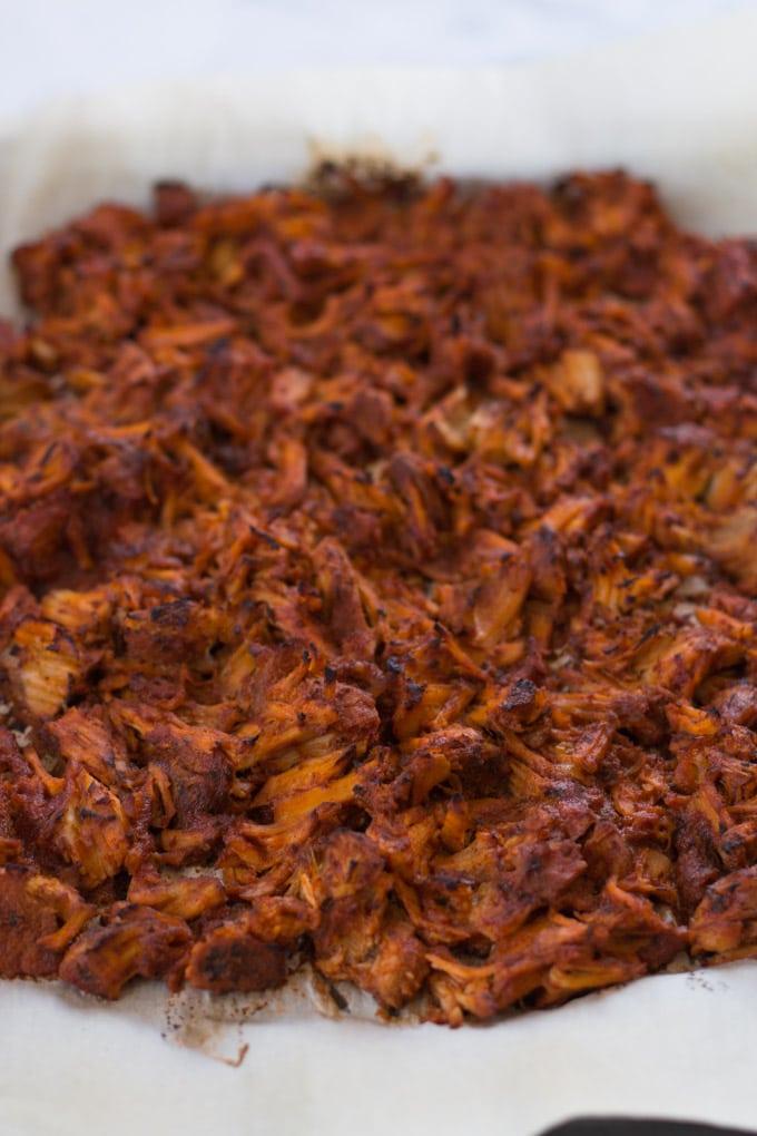 Pork Carnita Breakfast Nachos