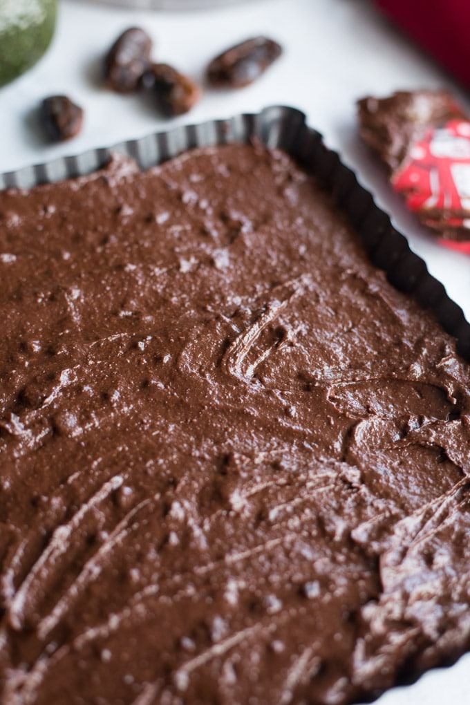 Peppermint Mocha Fudge Brownies