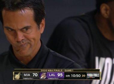Soirée cata pour le Heat : une raclée et de gros bobos, difficile de faire pire pour une entrée en Finales NBA