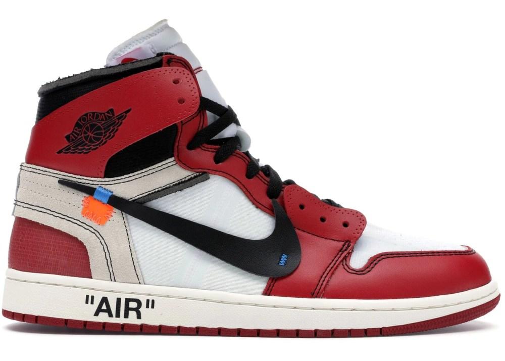 "Off-White x Air Jordan 1 ""Chicago"""