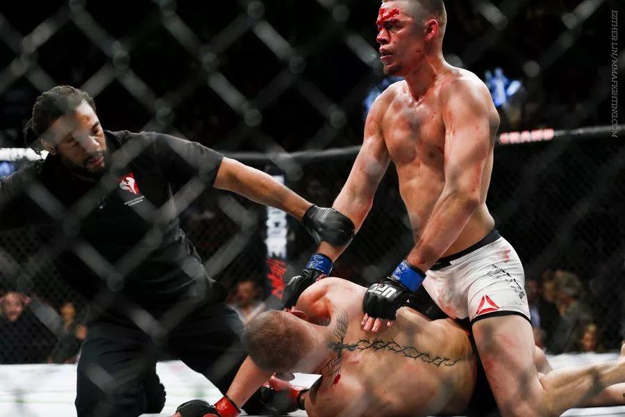 Conor McGregor vs. Nate Diaz 1