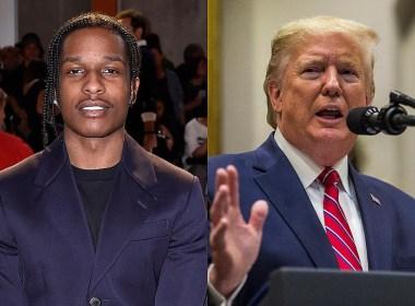 ASAP Rocky et Donald Trump