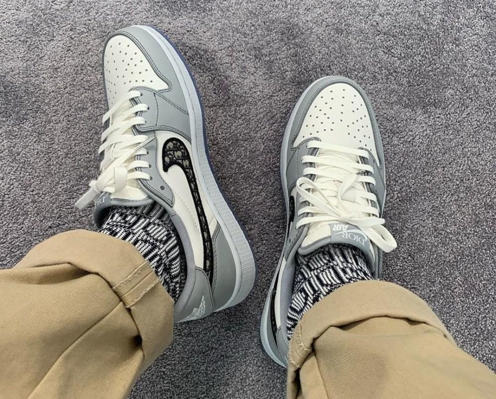 Dior x Air Jordan 1 Low-Top