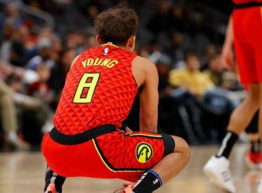 Emotional Trae Young honore Kobe Bryant avec 45 dans la victoire des Hawks