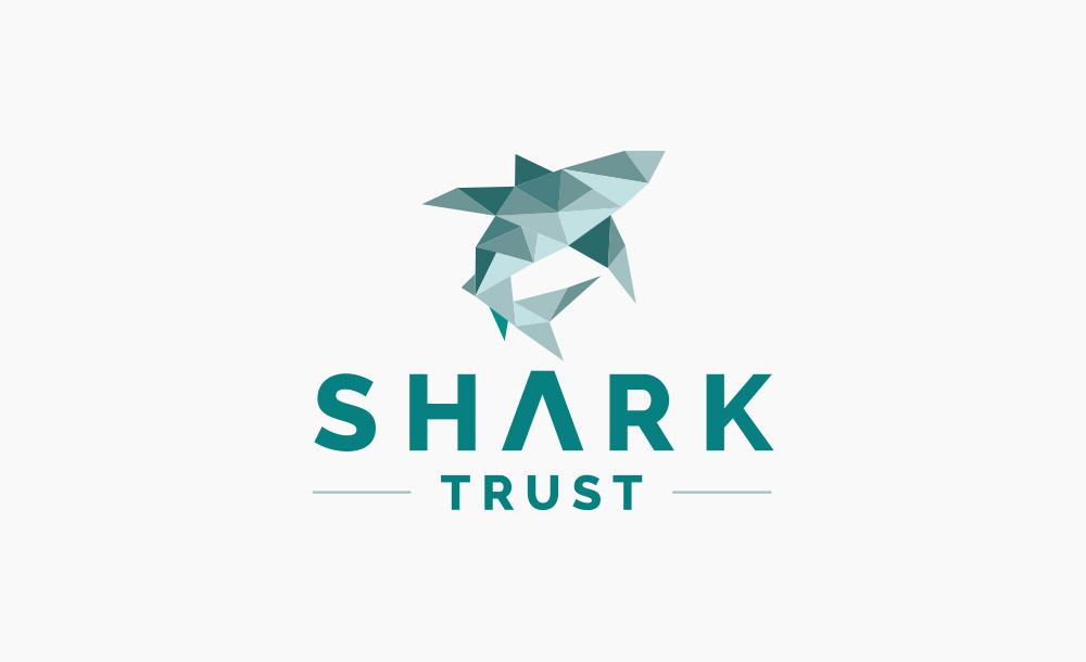 shark trust logo design