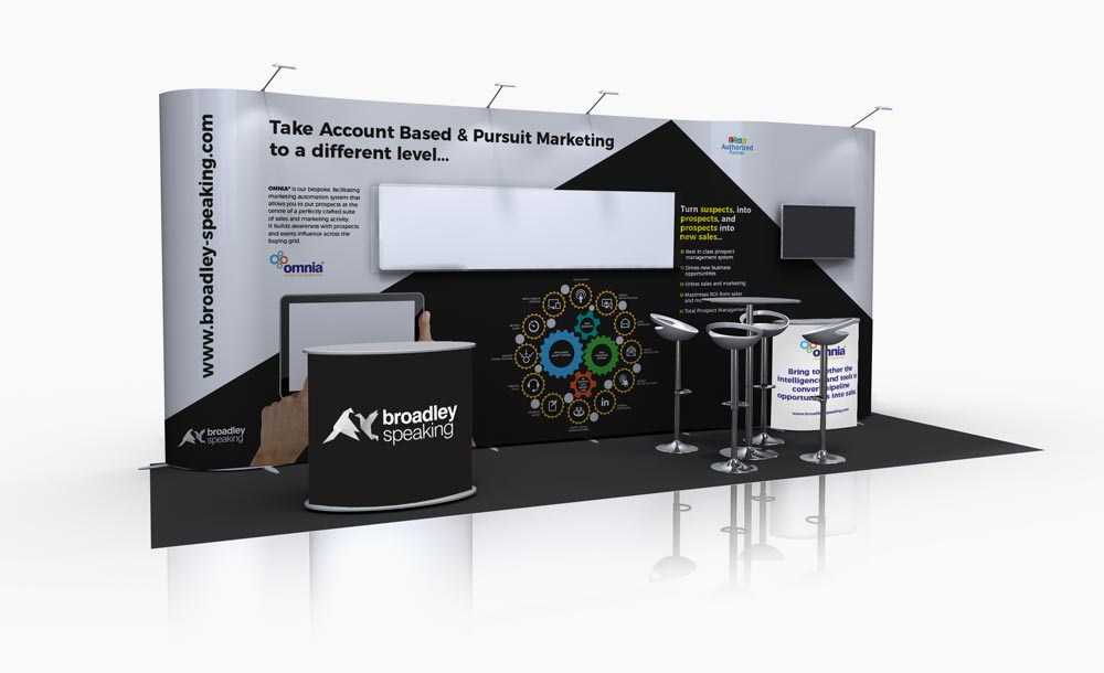 Broadley Speaking Exhibition stand design