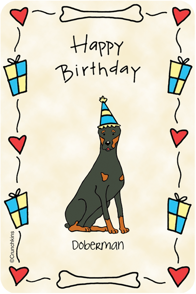 Doberman Happy Birthday Doberman Shop By Breed