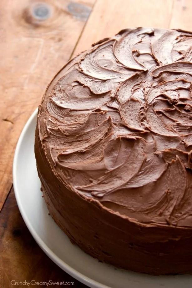 The Best Chocolate Cake Crunchy Creamy Sweet