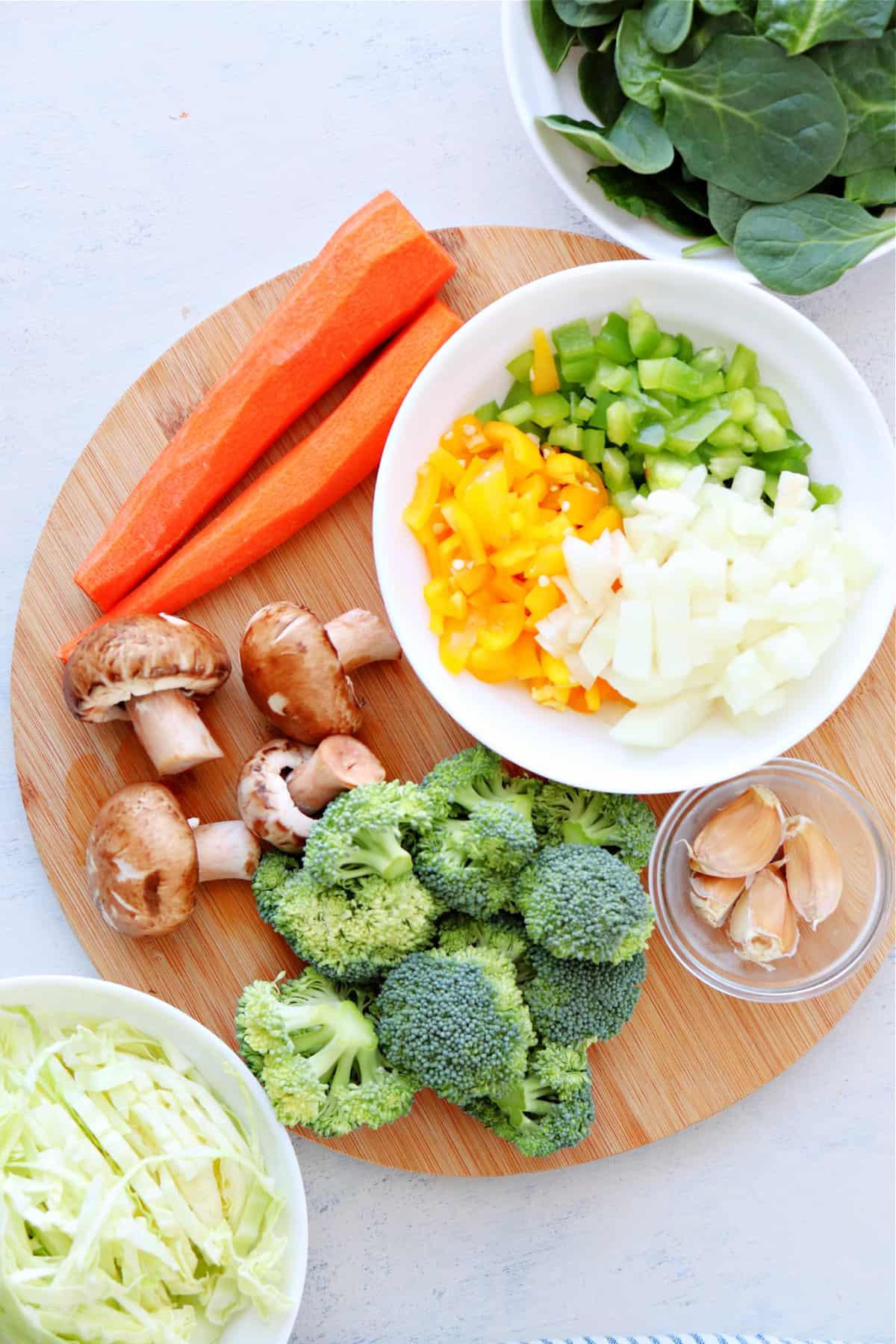 vegetable stir fry ingredients Vegetable Stir Fry