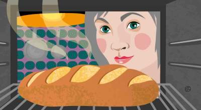 Making Bread | CrunchyTales | Stefania Tomasich